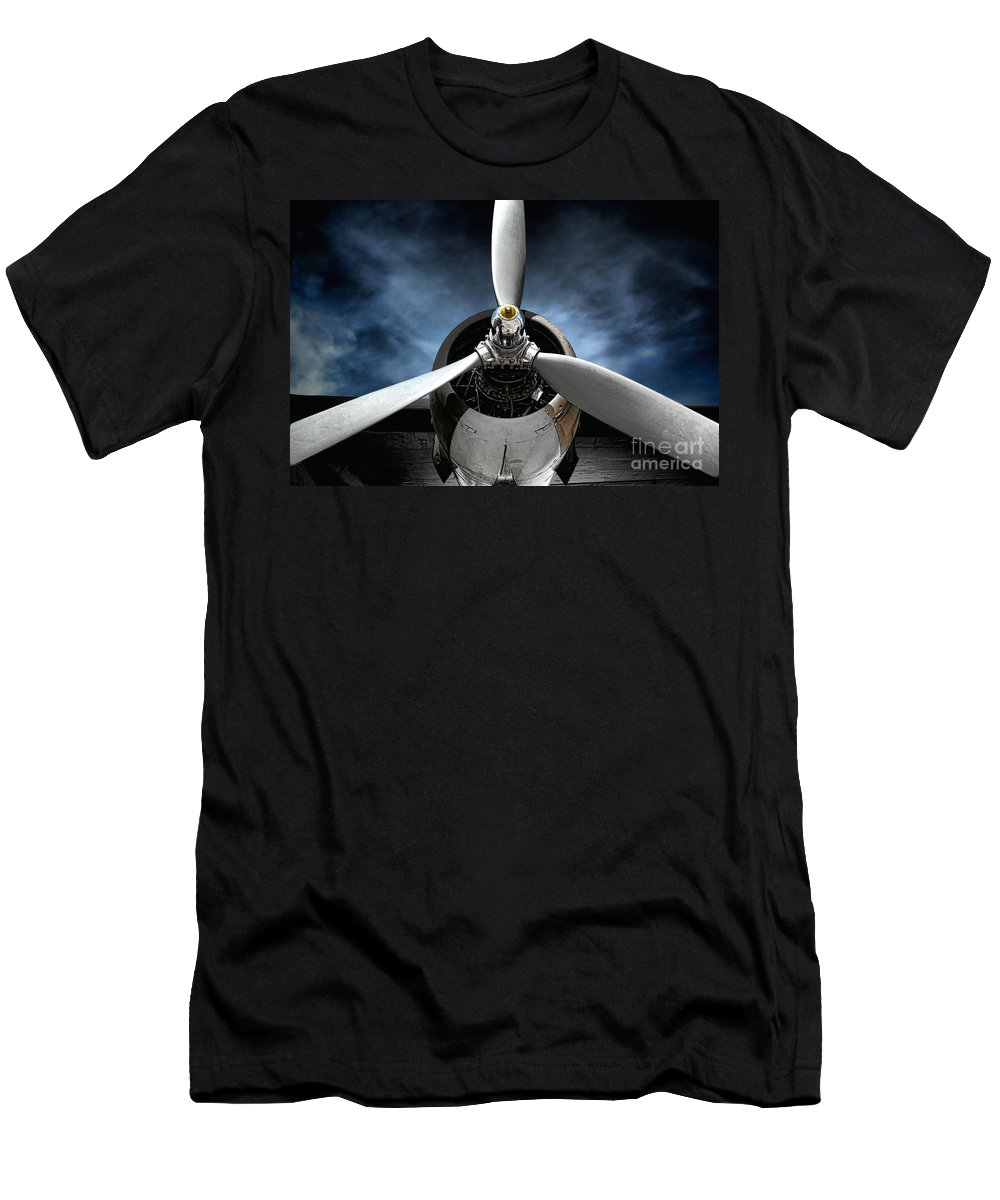 Plane T-Shirt featuring the photograph The Mission by Olivier Le Queinec