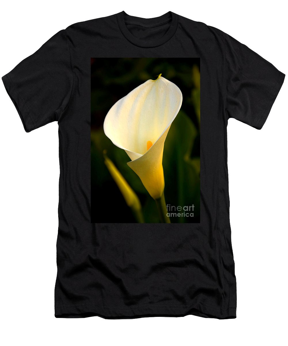 Clay Men's T-Shirt (Athletic Fit) featuring the photograph The Morning Trumpets by Clayton Bruster