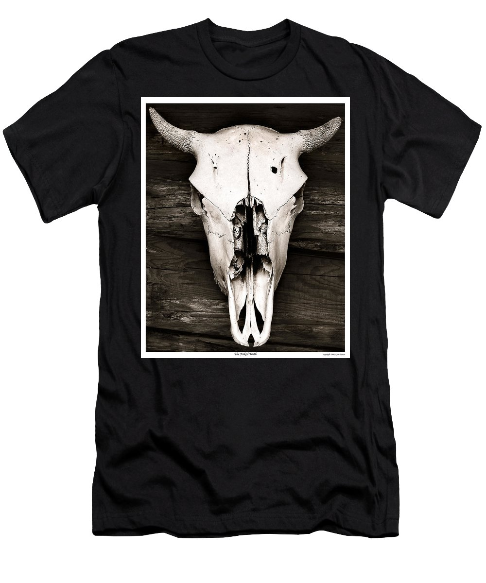Death Men's T-Shirt (Athletic Fit) featuring the photograph the Naked Truth by Gene Tatroe