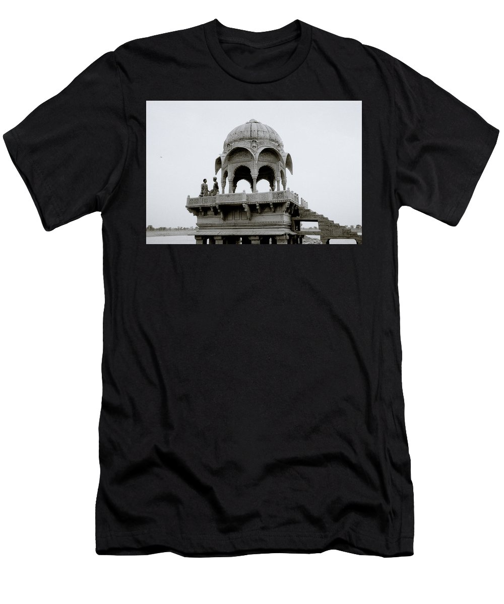 India Men's T-Shirt (Athletic Fit) featuring the photograph A Serene Moment by Shaun Higson