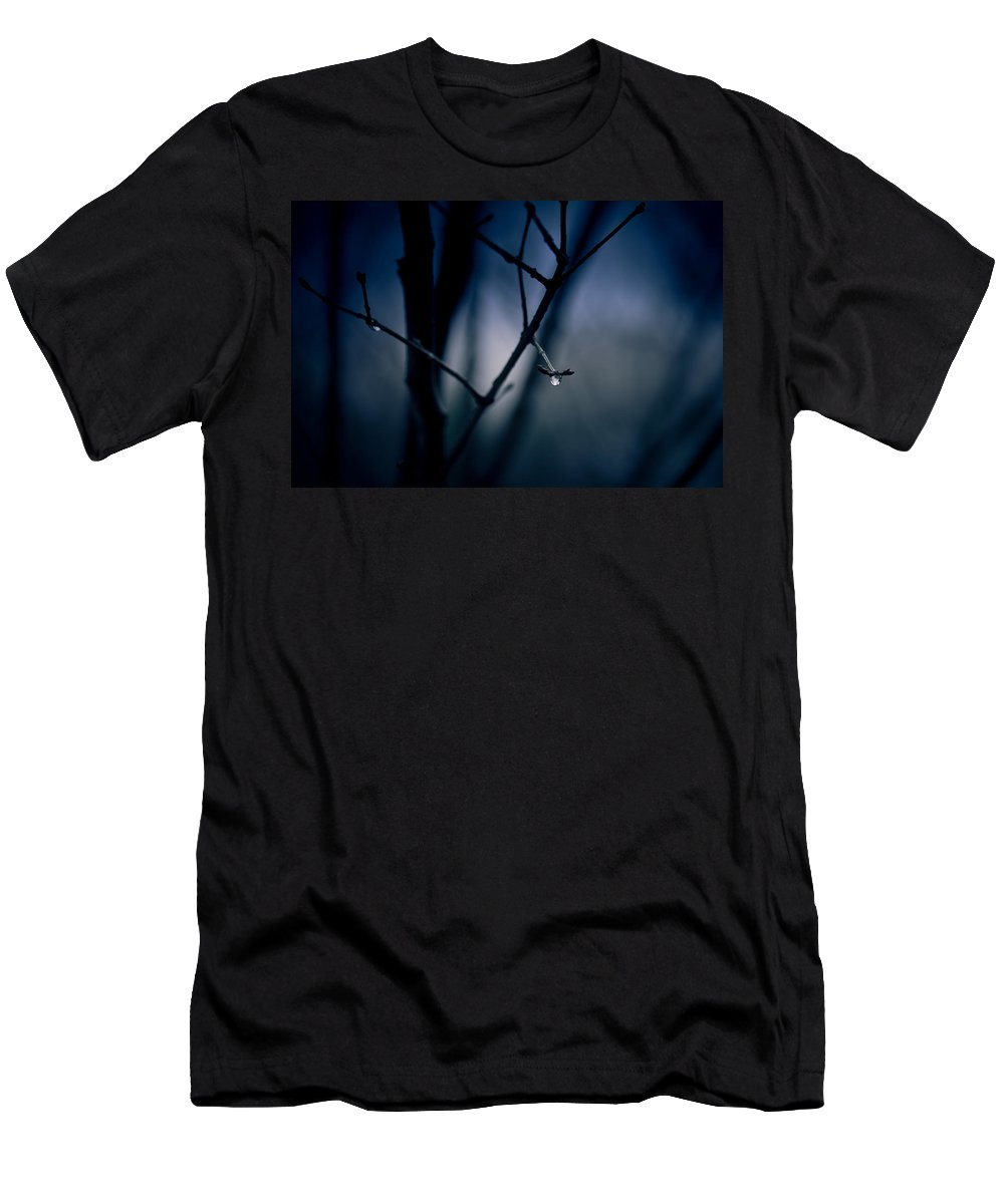 Rain Men's T-Shirt (Athletic Fit) featuring the photograph The Rain Song by Shane Holsclaw