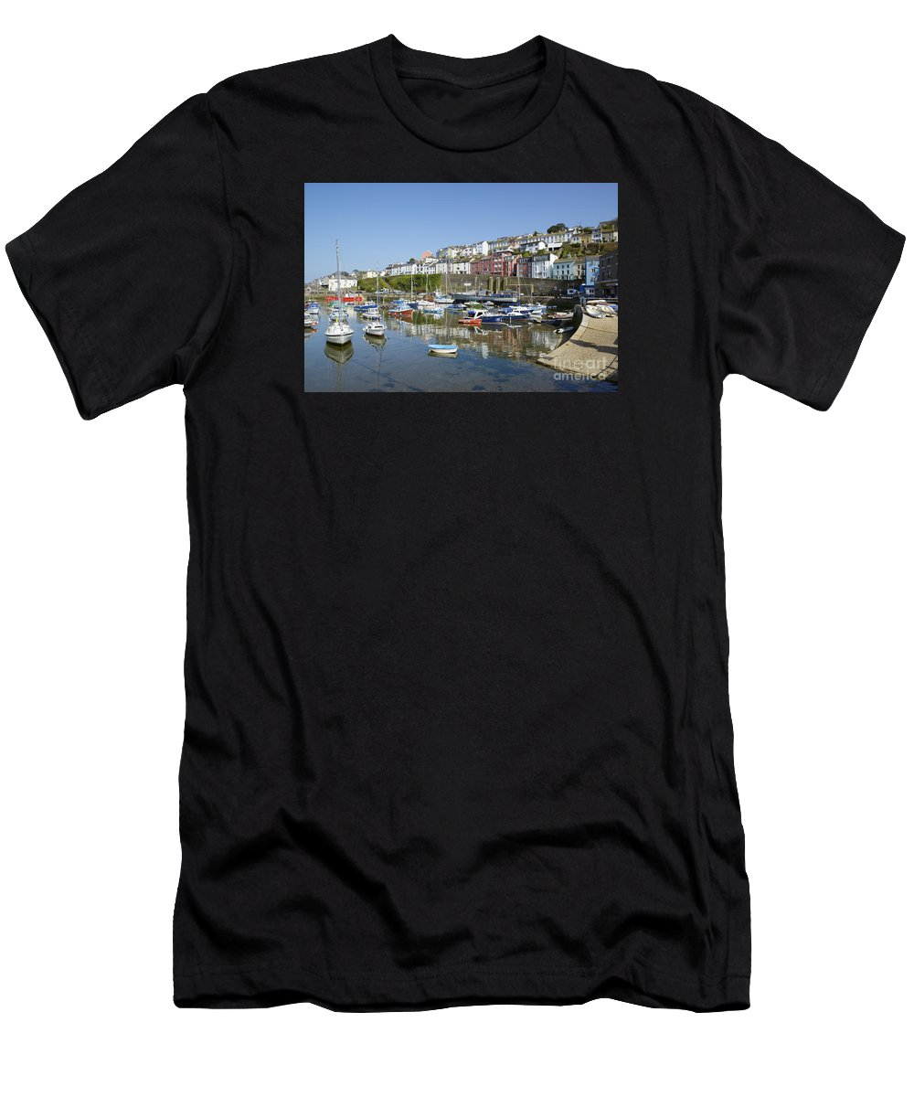 Mirrored Men's T-Shirt (Athletic Fit) featuring the photograph The Slipway by Doug Wilton