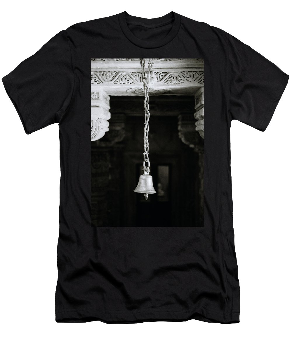 Serene Men's T-Shirt (Athletic Fit) featuring the photograph The Temple Bell by Shaun Higson