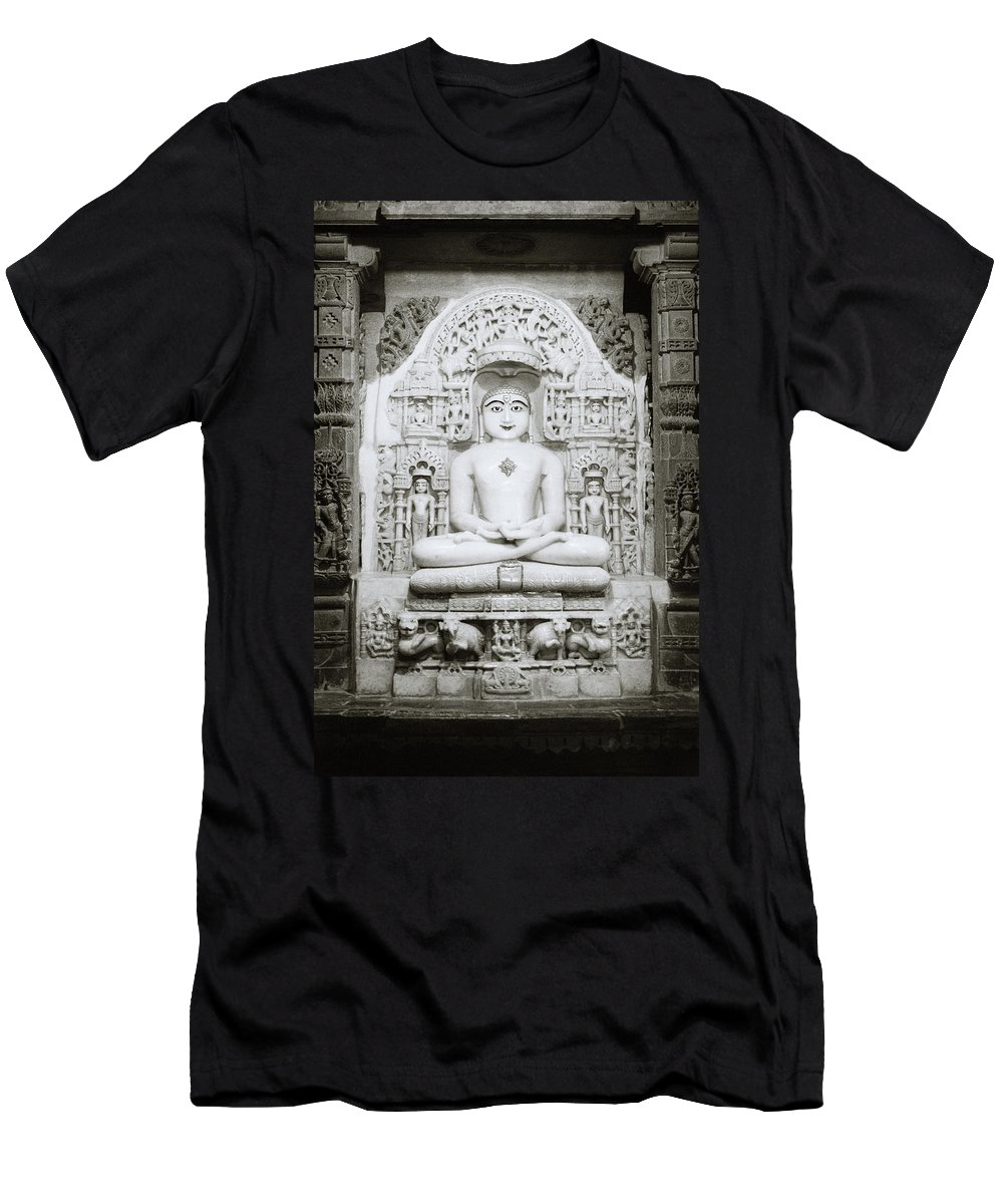 India Men's T-Shirt (Athletic Fit) featuring the photograph The Tirthankara by Shaun Higson