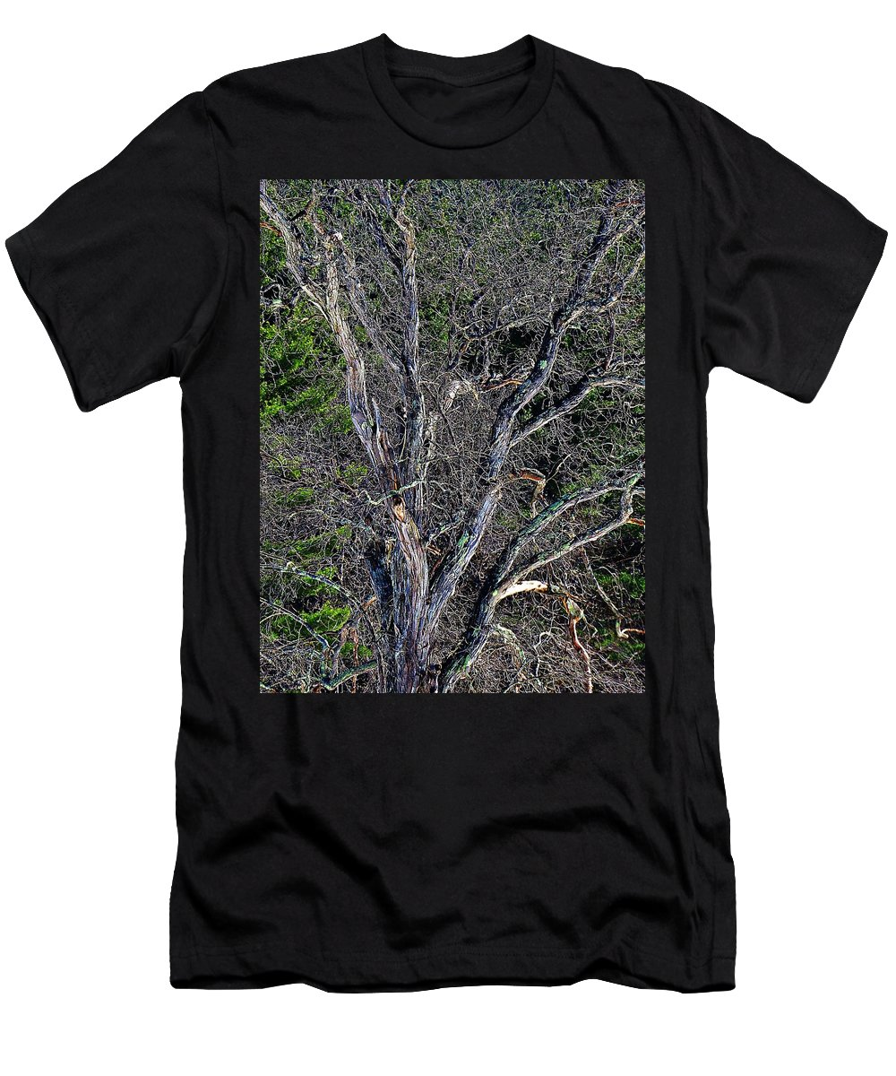 Men's T-Shirt (Athletic Fit) featuring the photograph The Tree by MTBobbins Photography