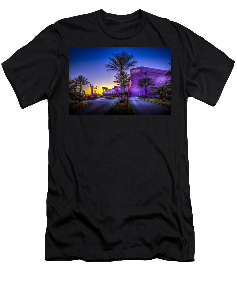 Preforming Art Hall Men's T-Shirt (Athletic Fit) featuring the photograph The Van Wezel by Marvin Spates