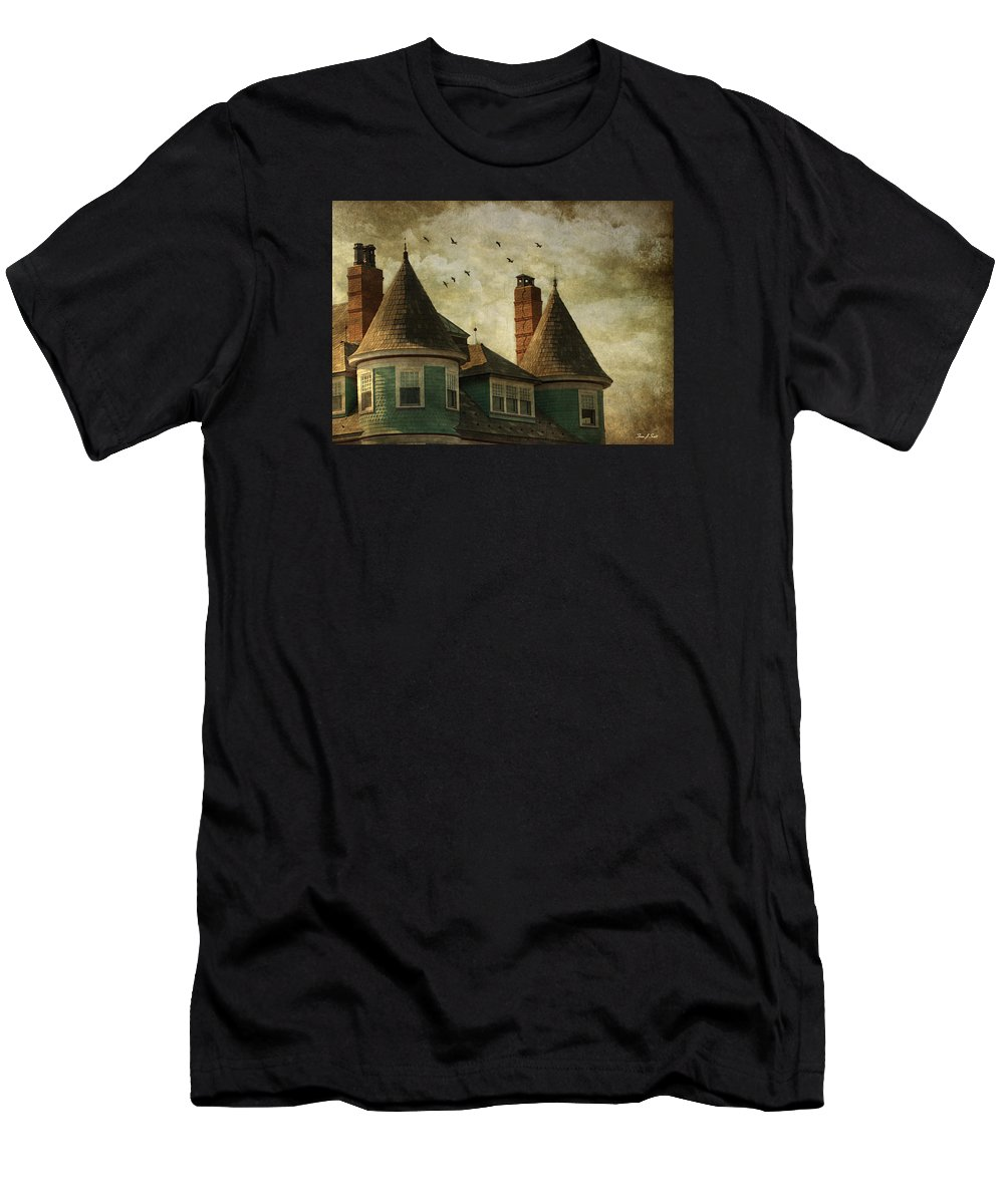 Victorian Men's T-Shirt (Athletic Fit) featuring the photograph The Victorian by Fran J Scott
