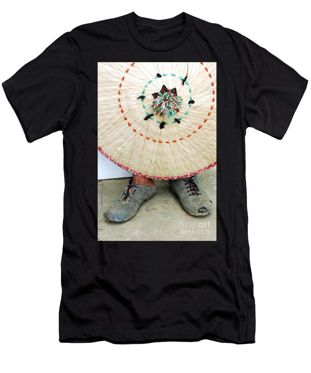 Accessory Men's T-Shirt (Athletic Fit) featuring the photograph Traditional Woven by Antoni Halim