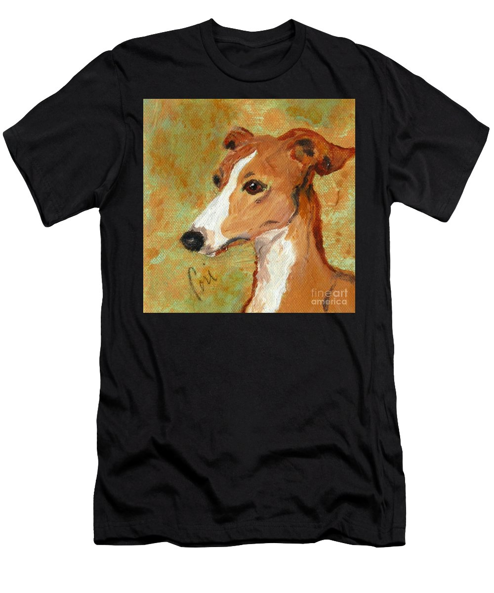 Acrylic T-Shirt featuring the painting Treasured Moments by Cori Solomon