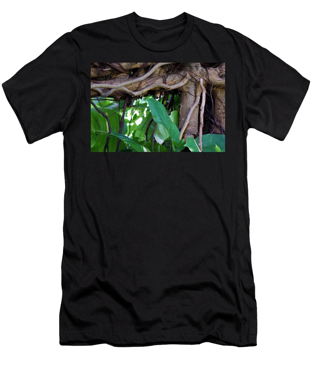 Tree Men's T-Shirt (Athletic Fit) featuring the photograph Tree Branch by Rafael Salazar