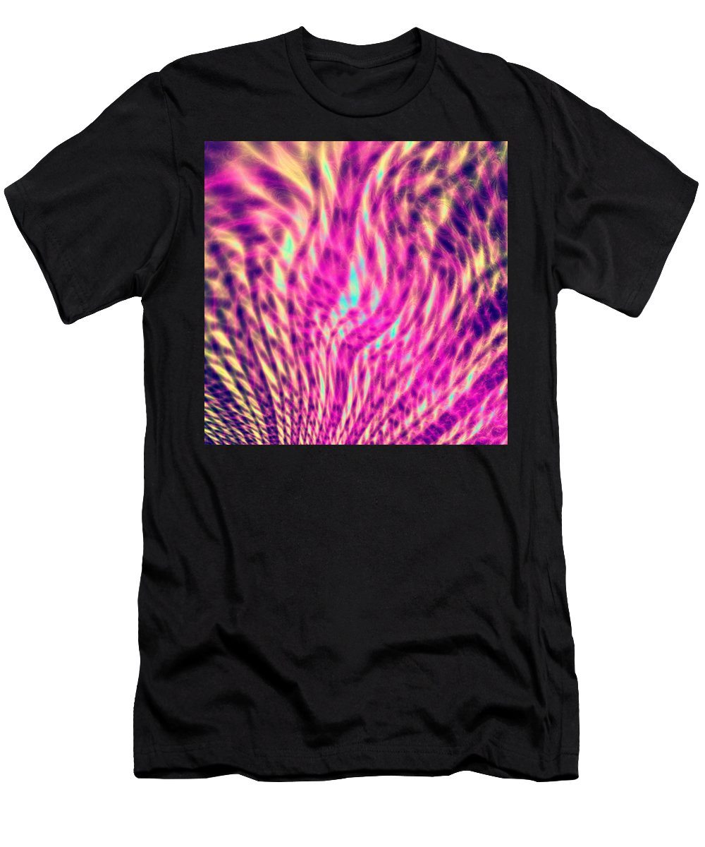 Tree Men's T-Shirt (Athletic Fit) featuring the digital art Tree Of Life by Roman Aj