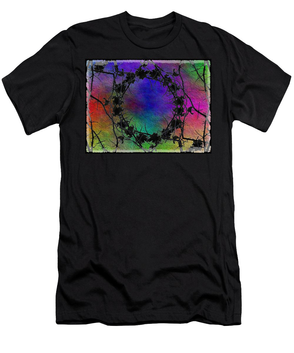 Tree Men's T-Shirt (Athletic Fit) featuring the digital art Tree Ring by Tim Allen