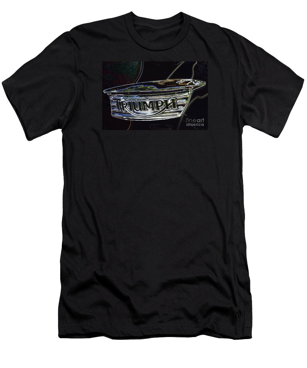 Triumph Men's T-Shirt (Athletic Fit) featuring the digital art Triumph 2 by Wendy Wilton