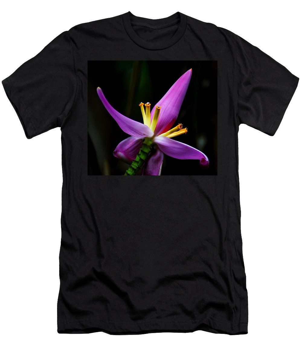 Flower Men's T-Shirt (Athletic Fit) featuring the photograph Tropical Flower by Brian Kerls