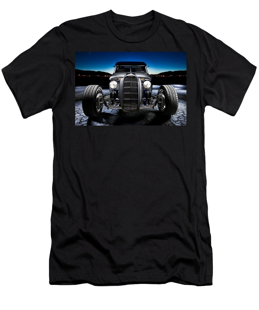 Car Men's T-Shirt (Athletic Fit) featuring the photograph Millers Chop Shop 1964 Truckster Frontend by Yo Pedro
