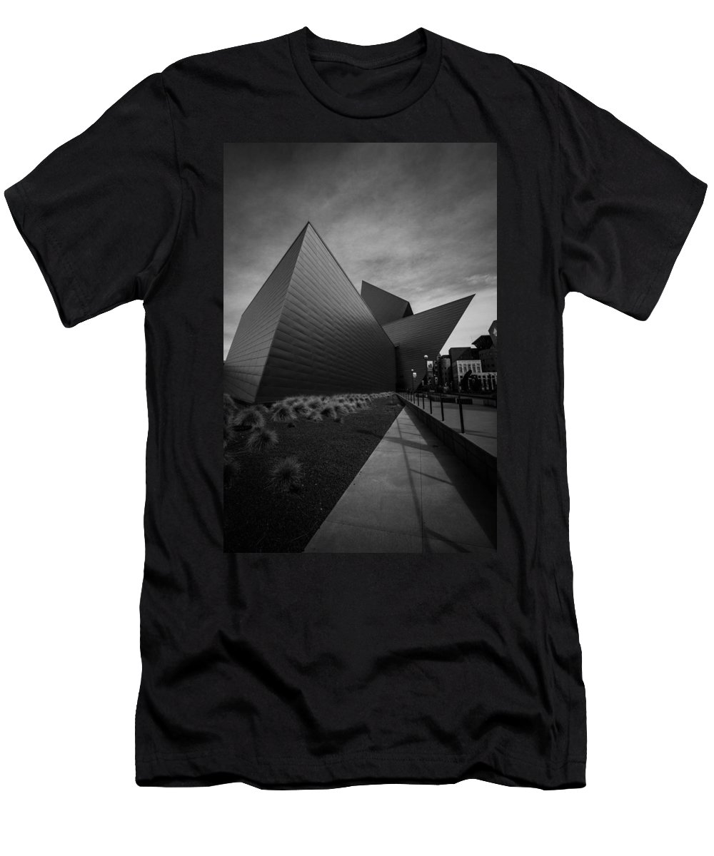 Denver Men's T-Shirt (Athletic Fit) featuring the photograph Try Angles by Dayne Reast