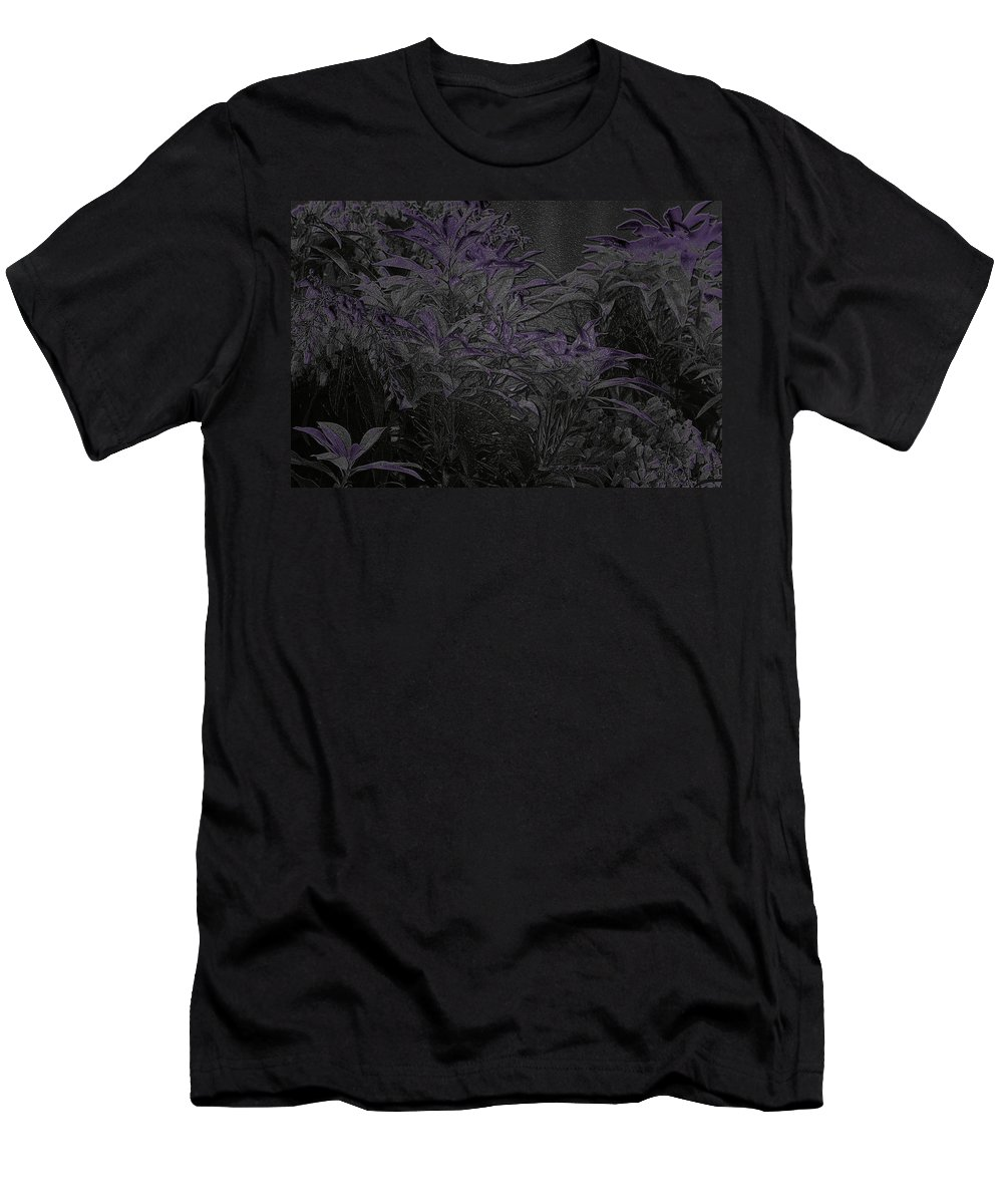 Bush Men's T-Shirt (Athletic Fit) featuring the photograph Twilight In Wonderland by Jeanette C Landstrom