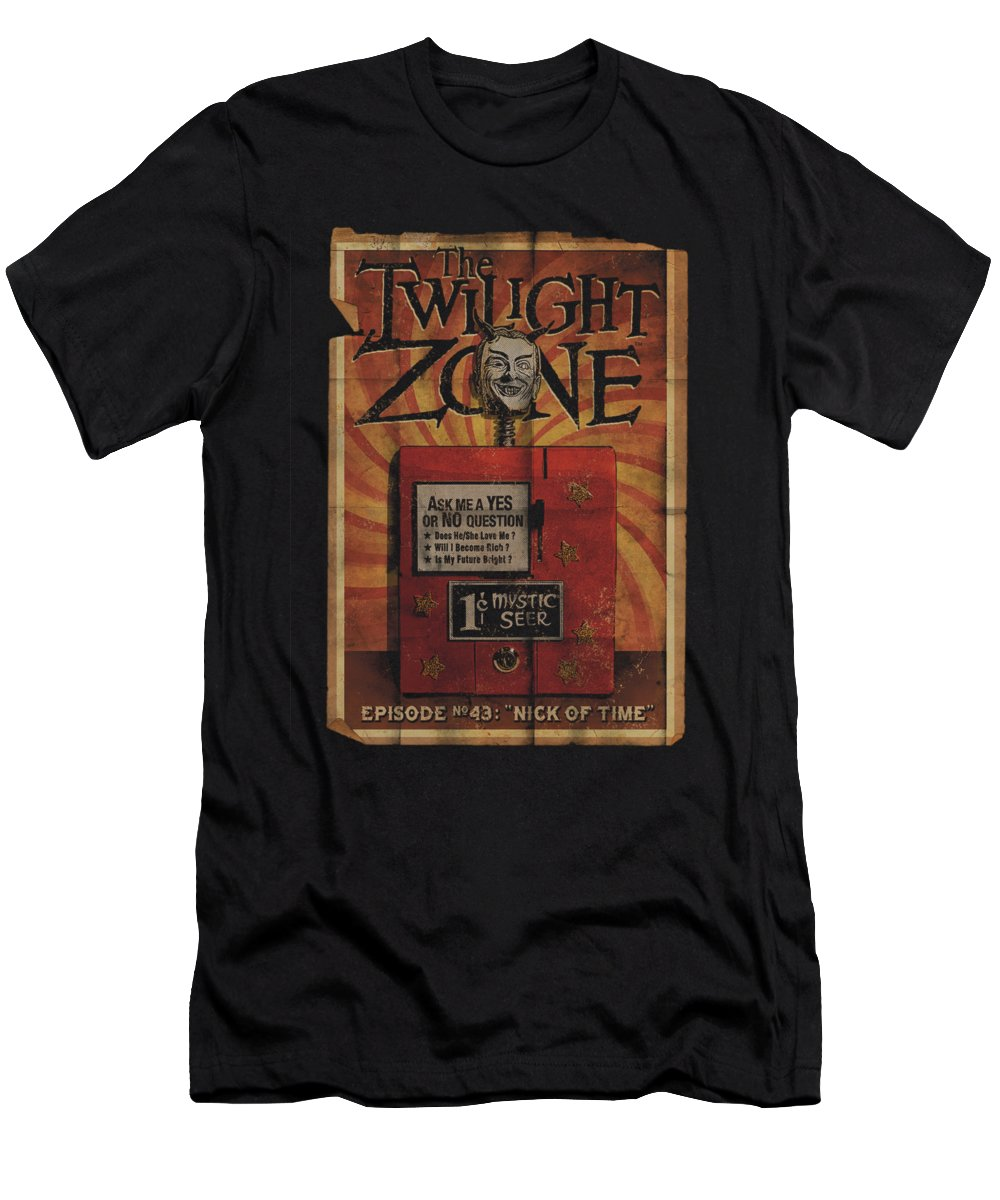 Twilight Zone T-Shirt featuring the digital art Twilight Zone - Seer by Brand A