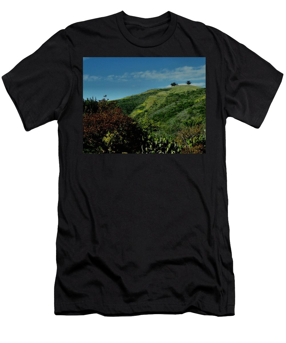 Nature Men's T-Shirt (Athletic Fit) featuring the photograph Two Trees by Michael Gordon