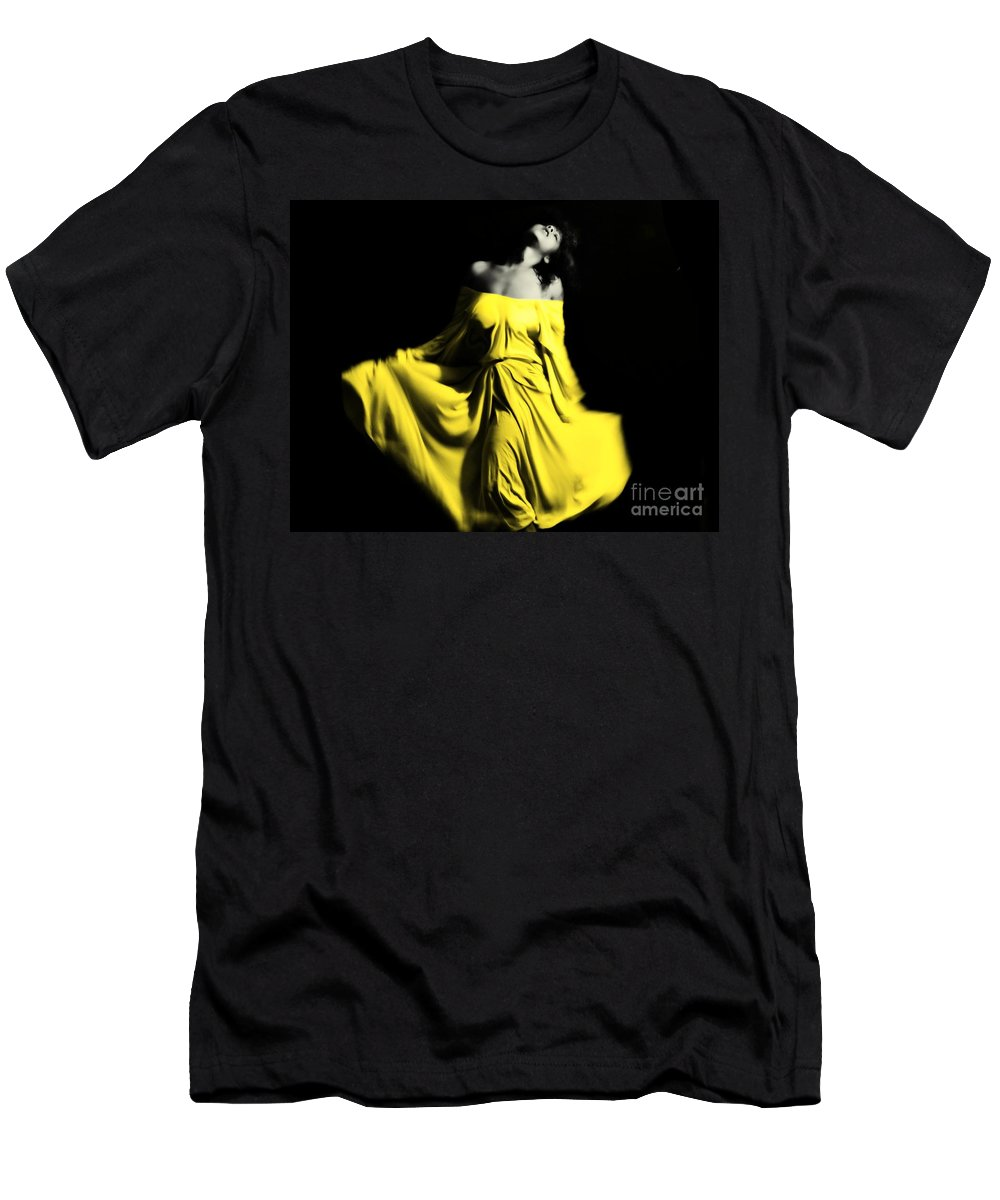 Black Men's T-Shirt (Athletic Fit) featuring the photograph Undaunted by Jessica Shelton