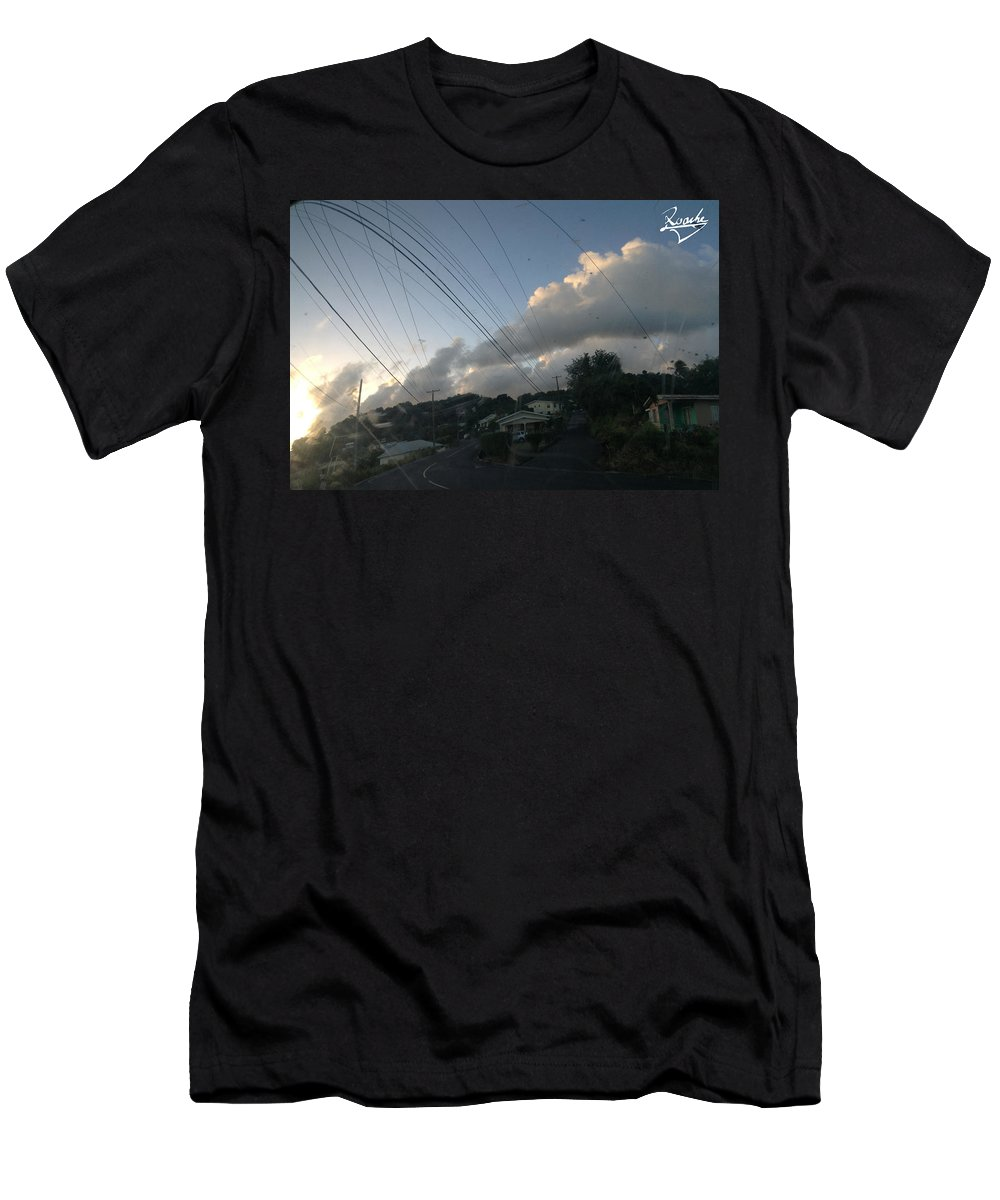 Men's T-Shirt (Athletic Fit) featuring the photograph Untitled by Sean Roache