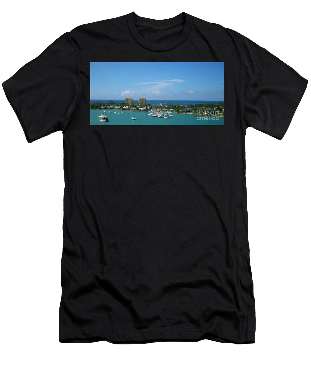 Vacation Men's T-Shirt (Athletic Fit) featuring the photograph Vacation by Lynda J Coleman