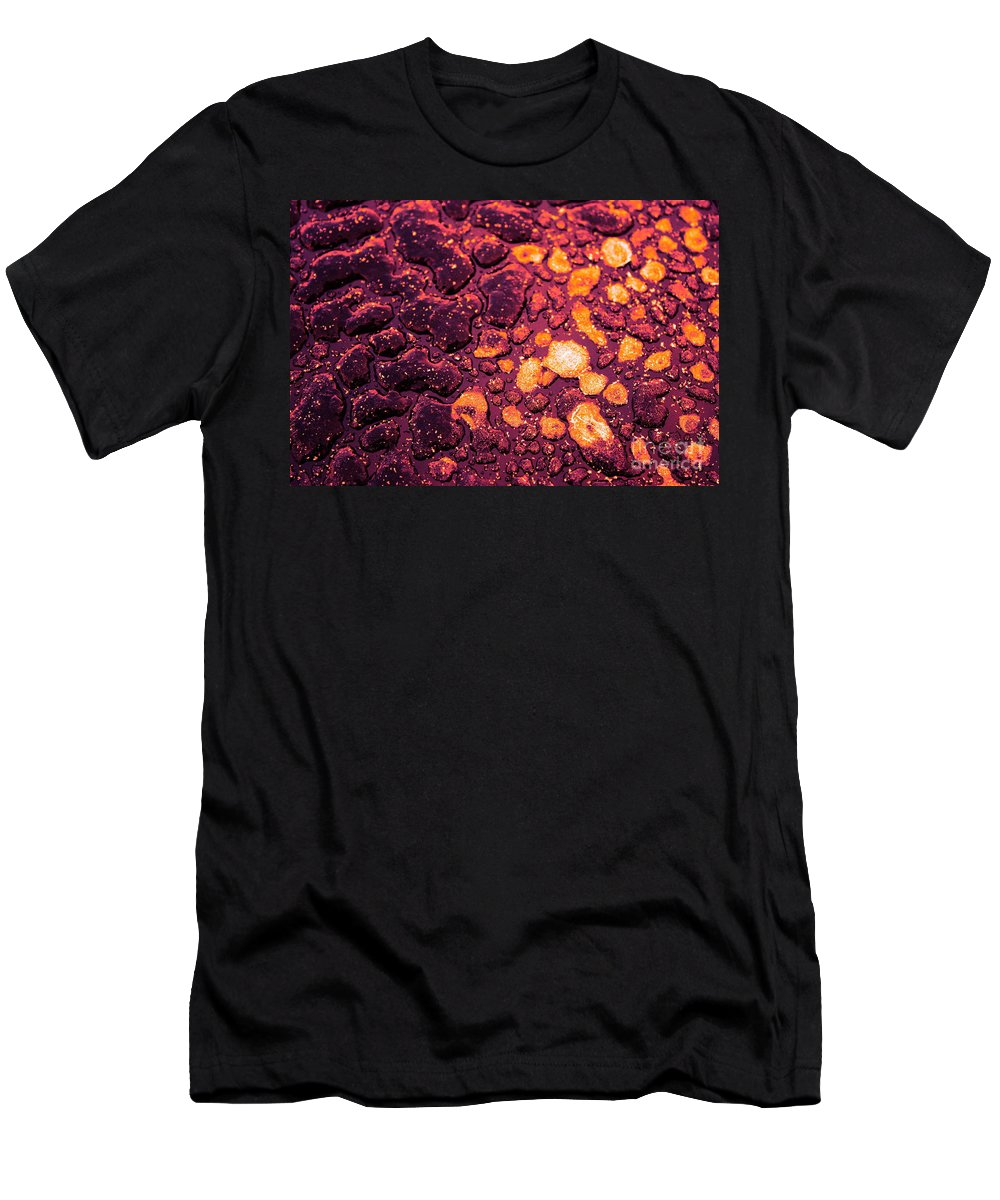 Purple Men's T-Shirt (Athletic Fit) featuring the photograph Vellum by Brook Steed