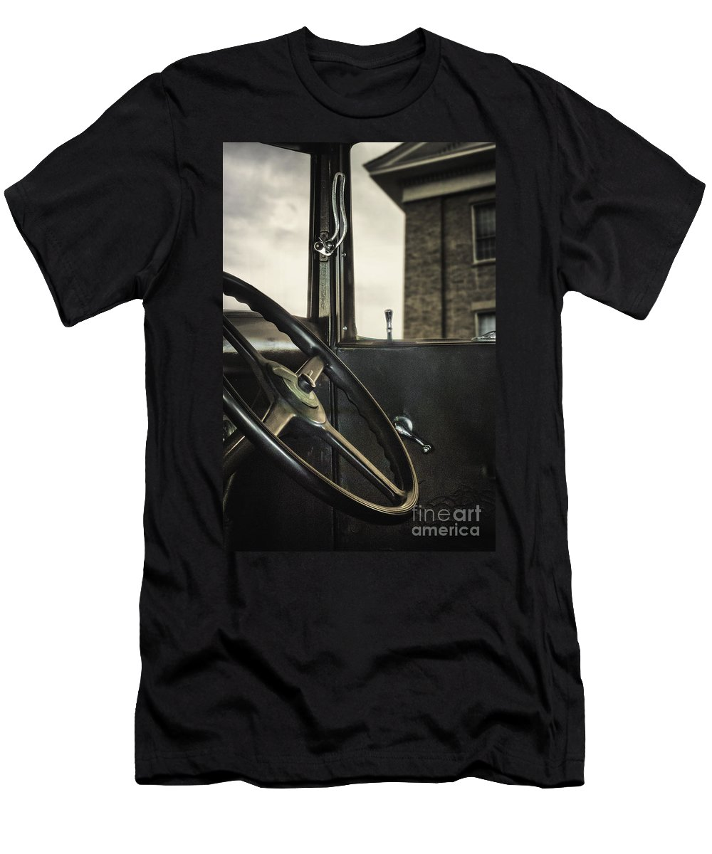 Old Men's T-Shirt (Athletic Fit) featuring the photograph View Out The Window by Margie Hurwich