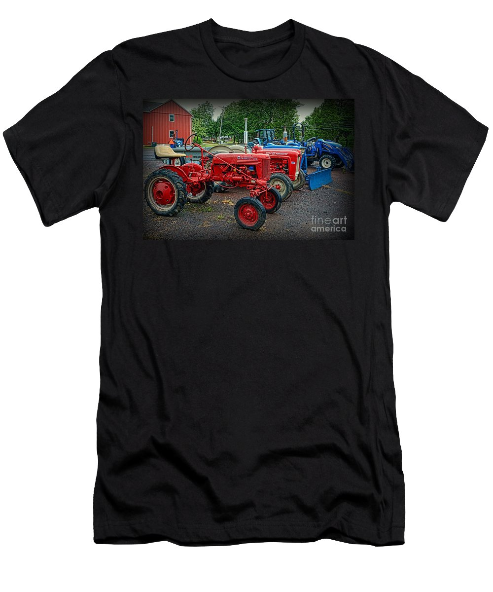 Paul Ward T-Shirt featuring the photograph Vintage Tractors by Paul Ward