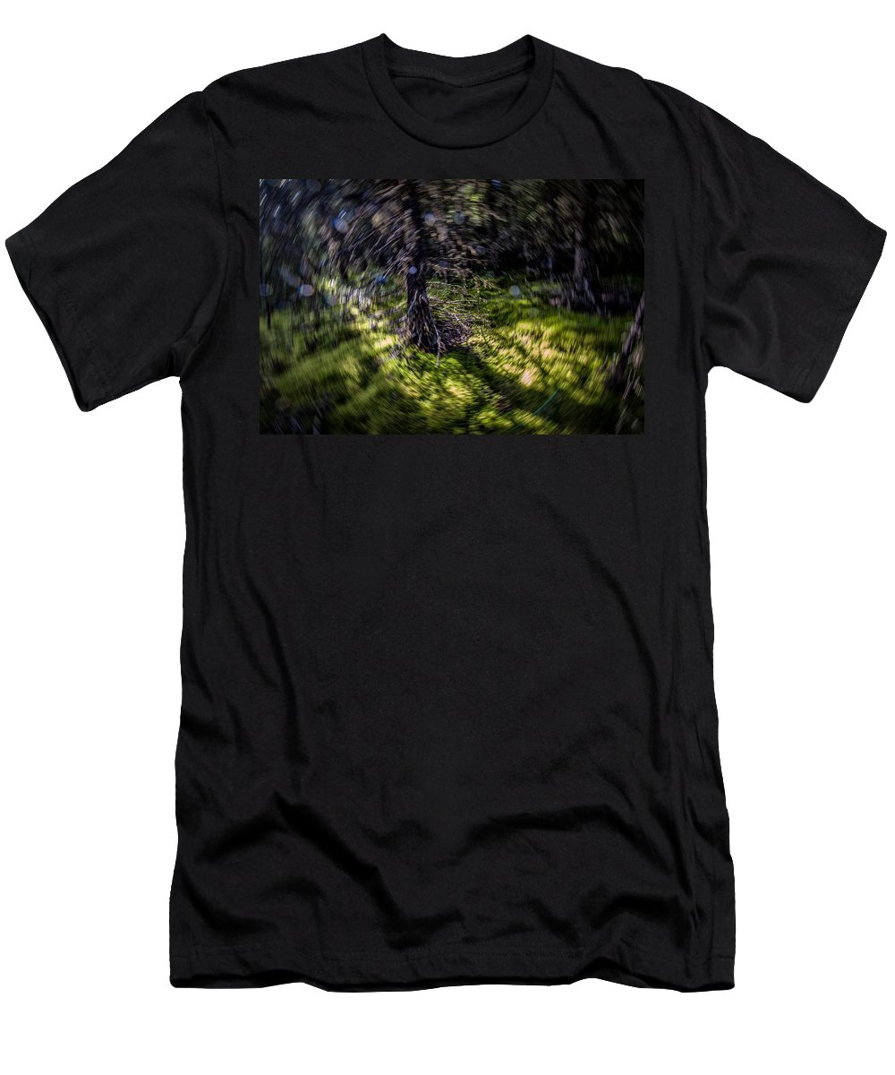 Canada Men's T-Shirt (Athletic Fit) featuring the photograph Vortex by Doug Gibbons