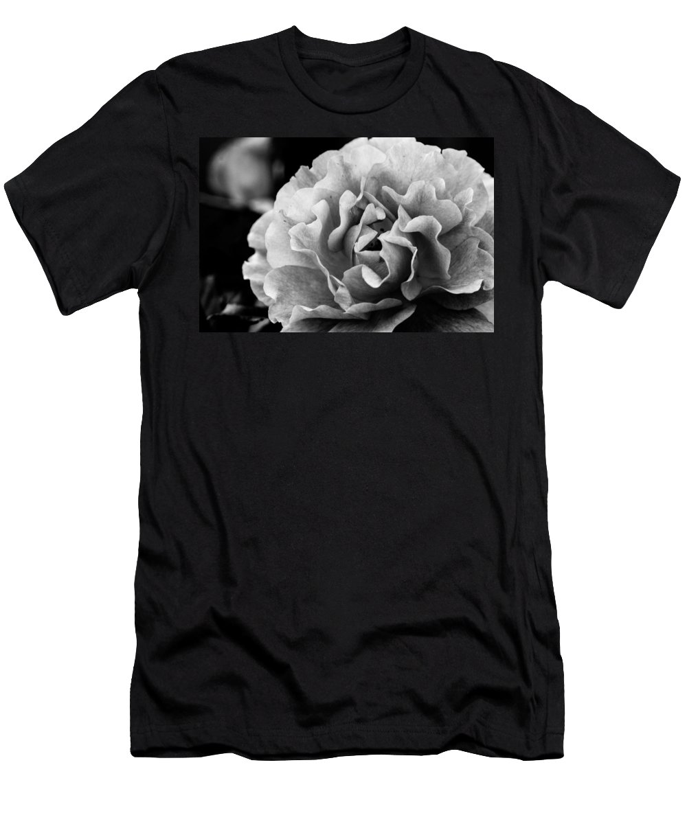 Flowers Men's T-Shirt (Athletic Fit) featuring the photograph Waiting For You by Mary Hahn Ward