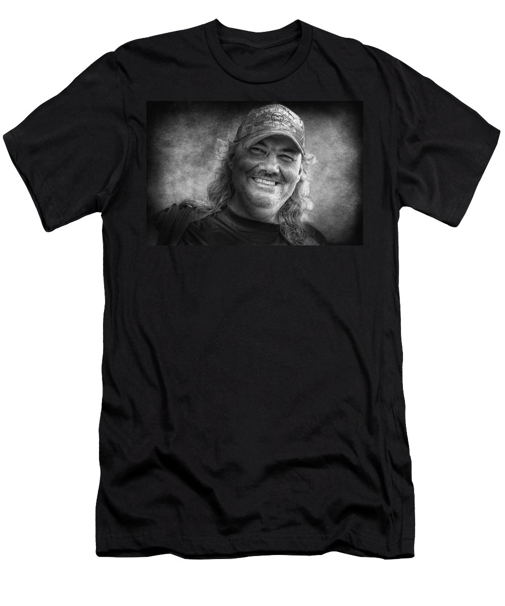 Men Men's T-Shirt (Athletic Fit) featuring the photograph Walter Wifeless by John Herzog