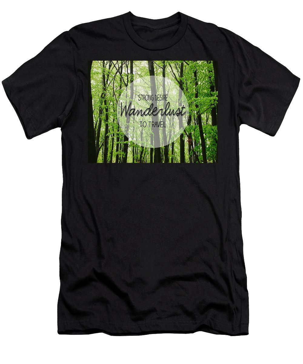 Wanderlust Men's T-Shirt (Athletic Fit) featuring the photograph Wanderlust by Pati Photography