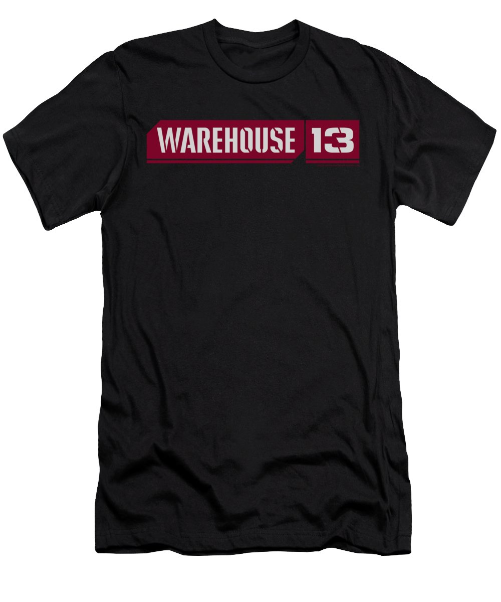 Warehouse 13 Men's T-Shirt (Athletic Fit) featuring the digital art Warehouse 13 - Logo by Brand A