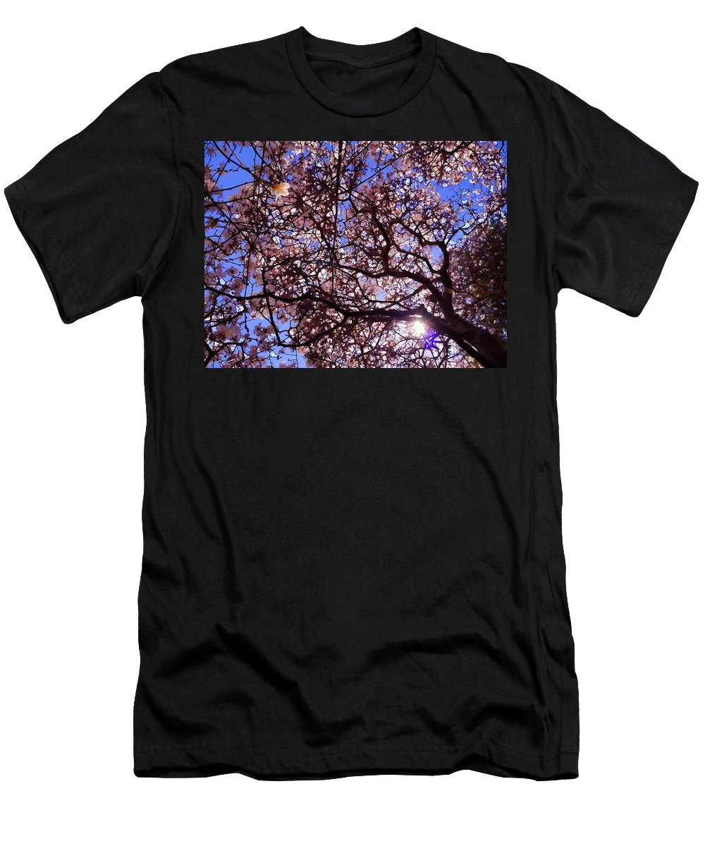 Albany Men's T-Shirt (Athletic Fit) featuring the photograph Washington Park Iv by Tina Baxter