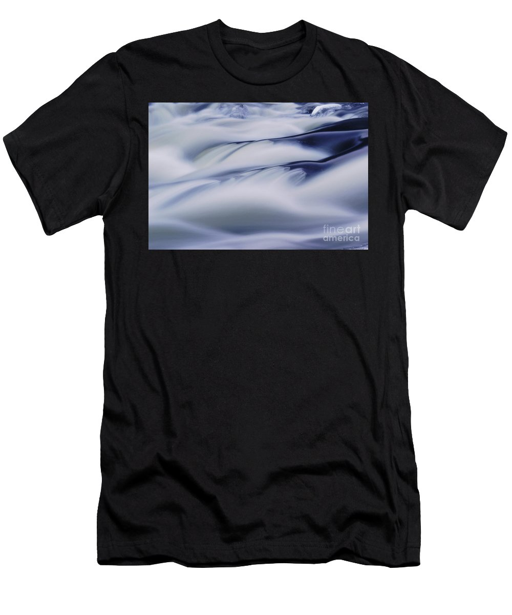 Nature Men's T-Shirt (Athletic Fit) featuring the photograph Water Abstract by Aimelle