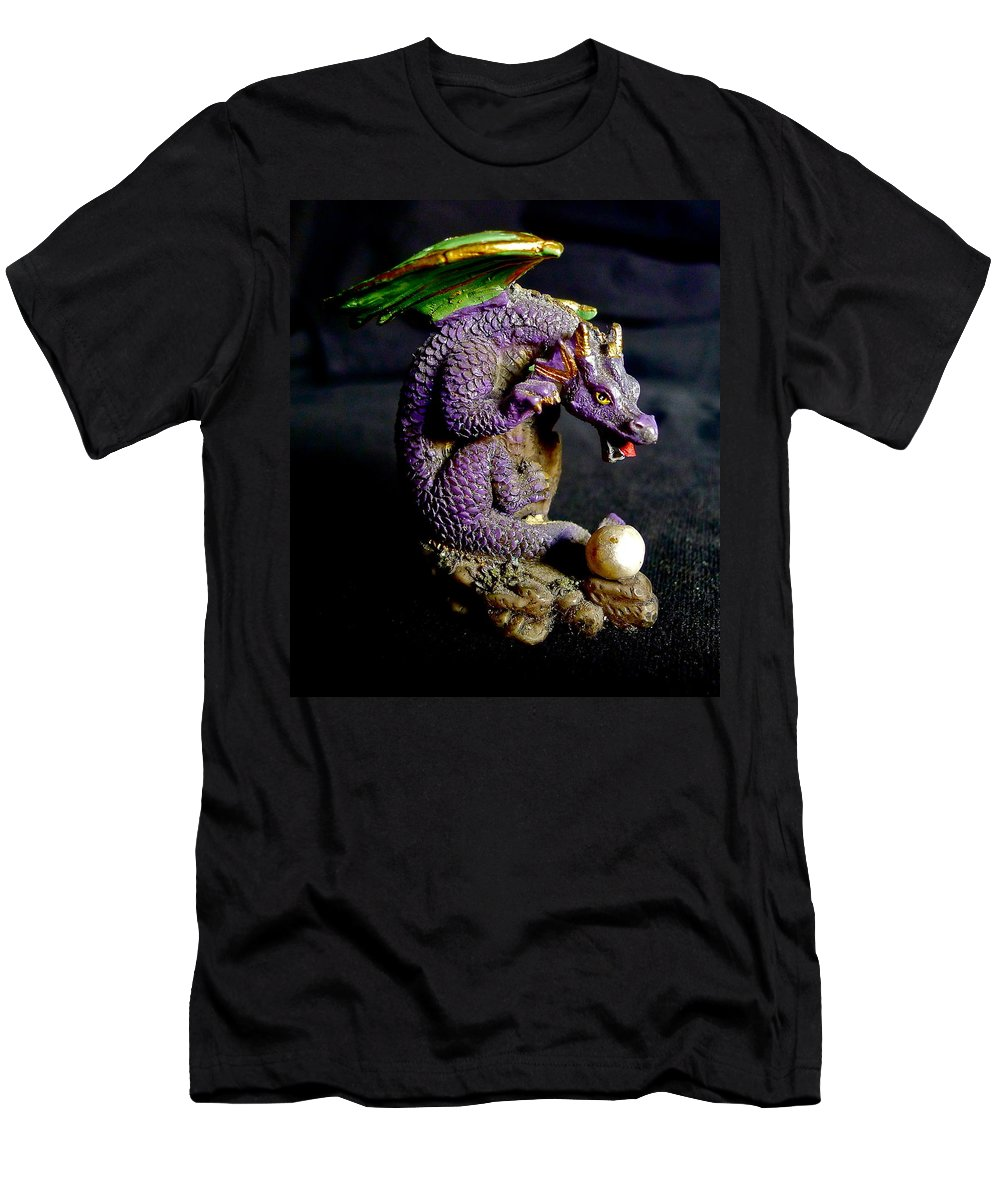 Dragon Men's T-Shirt (Athletic Fit) featuring the photograph Water Dragon by Denise Mazzocco