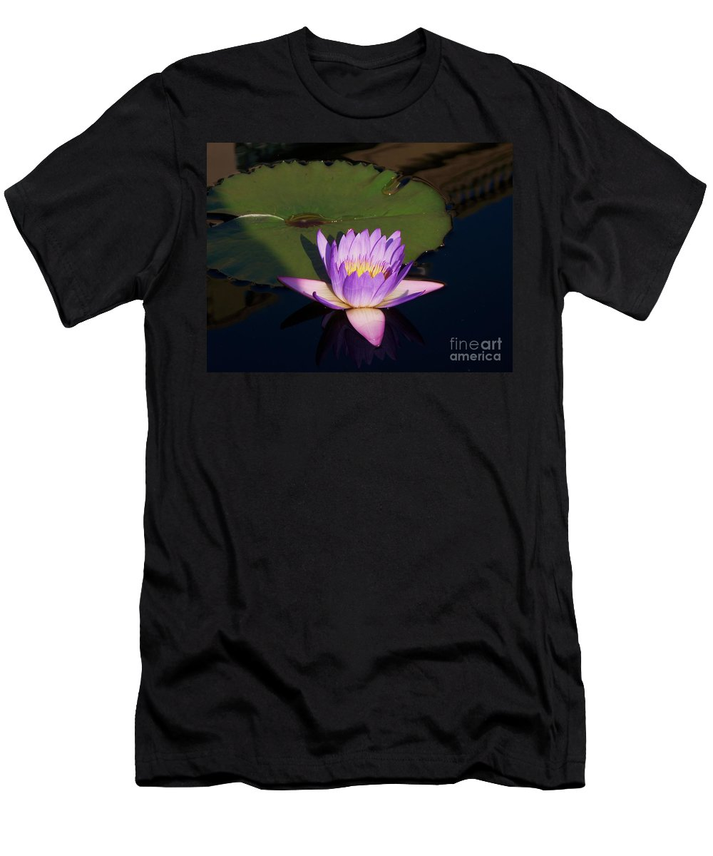 Photograph Men's T-Shirt (Athletic Fit) featuring the photograph Water Lilies Monet by Eric Schiabor
