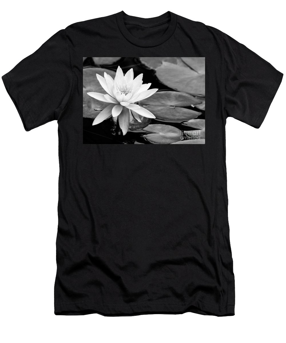 Landscape T-Shirt featuring the photograph Water Lily In The Lily Pond by Sabrina L Ryan