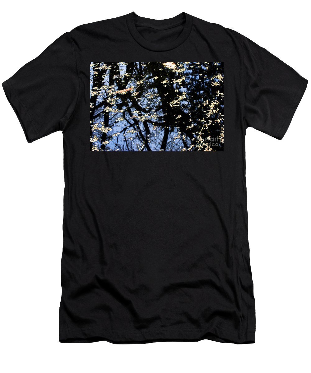 Reflection T-Shirt featuring the photograph Water Reflections by Nancy Mueller