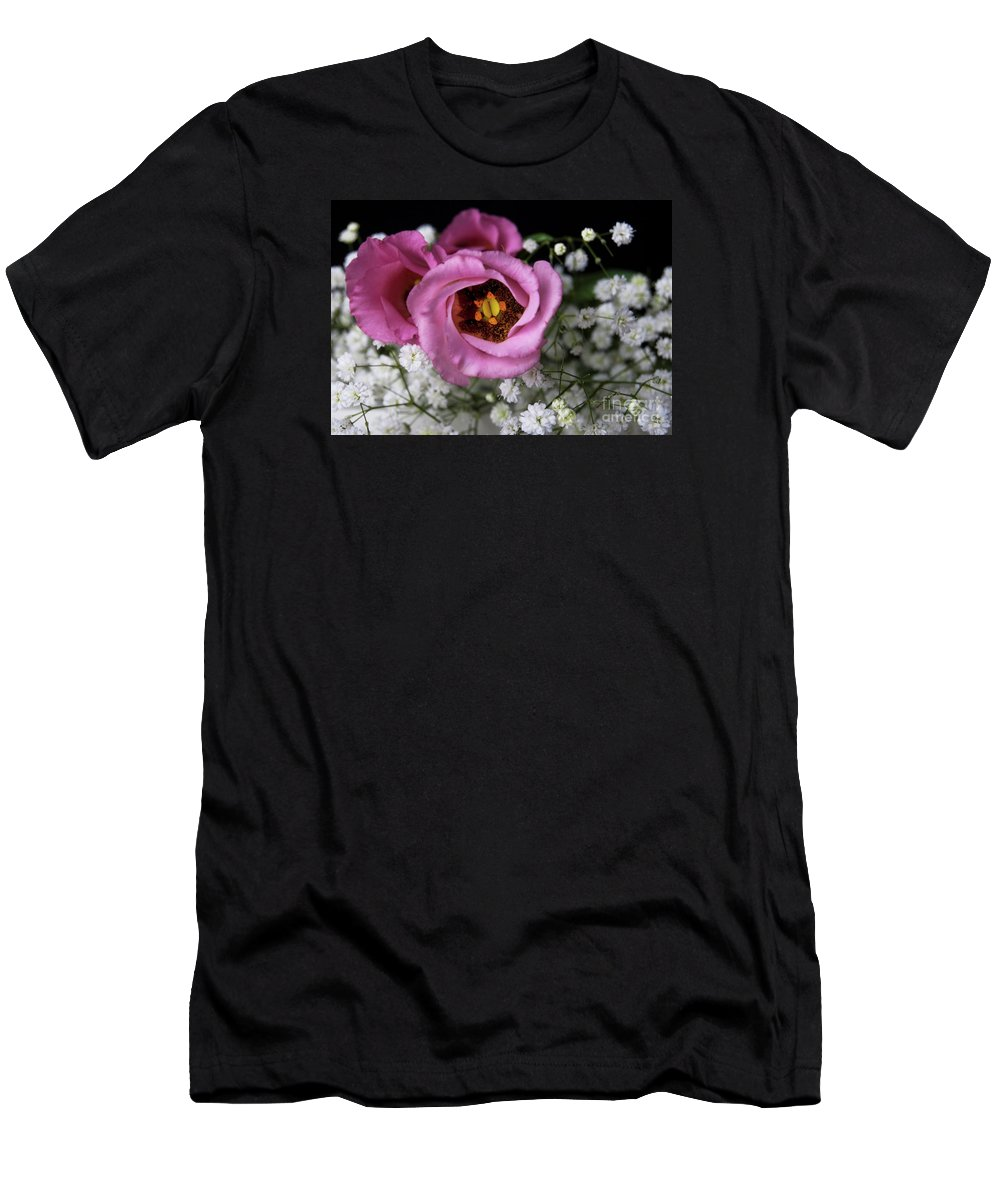 Festblues Men's T-Shirt (Athletic Fit) featuring the photograph Whisper Of Love.. by Nina Stavlund