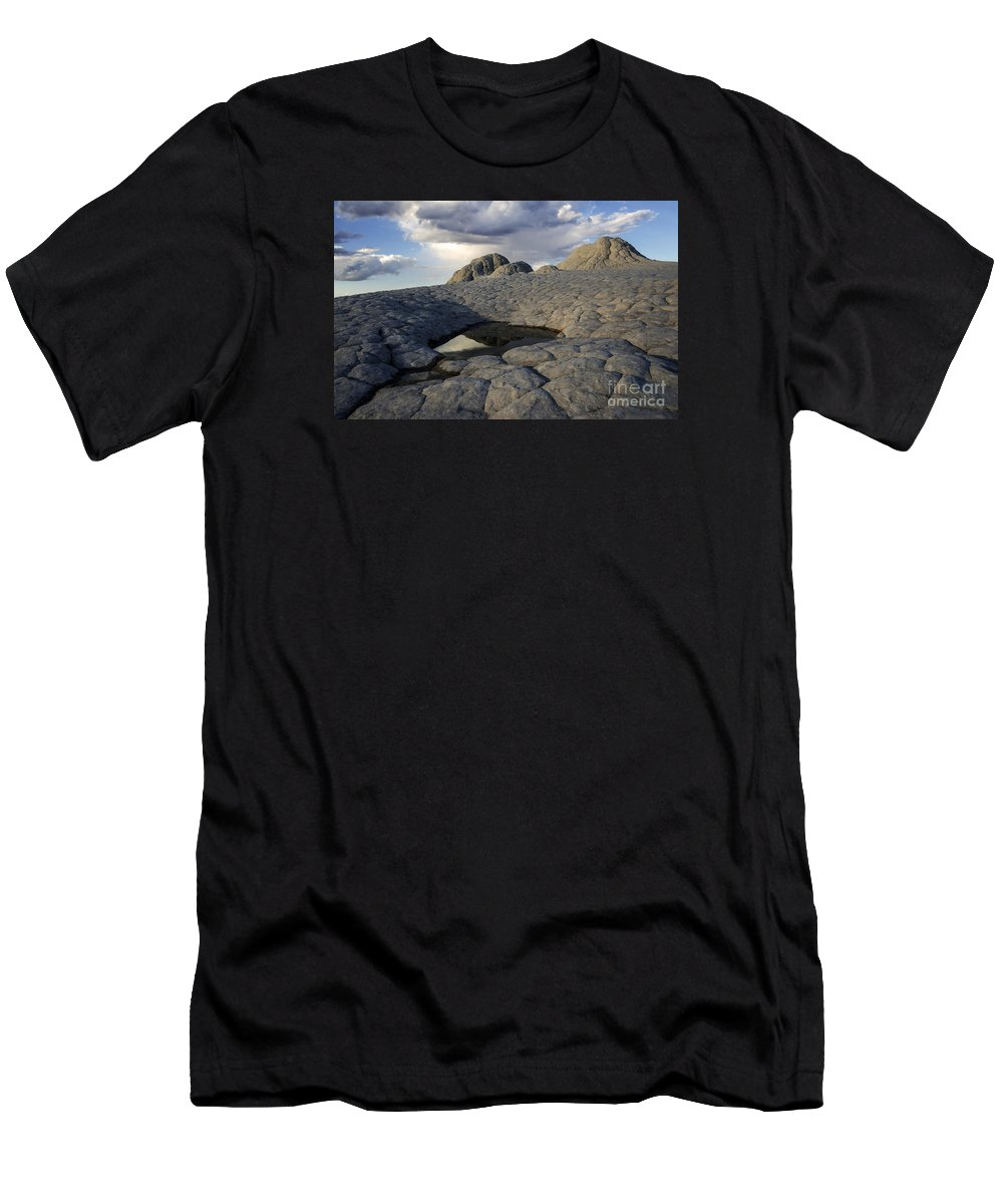 White Pocket Men's T-Shirt (Athletic Fit) featuring the photograph White Pocket Arizona 1 by Bob Christopher