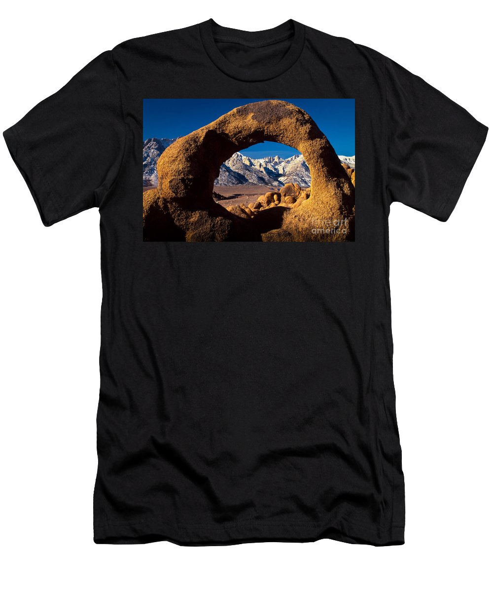 Alabama Hills T-Shirt featuring the photograph Whitney Portal by Inge Johnsson