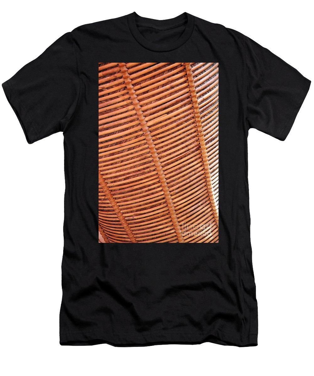 Wicker Men's T-Shirt (Athletic Fit) featuring the photograph Wicker #2 by Antoni Halim