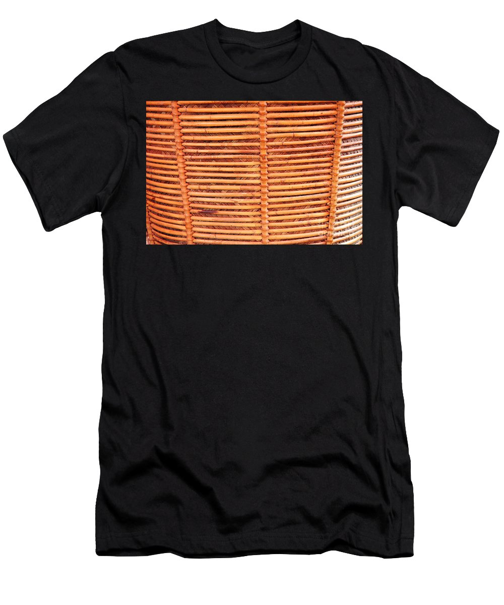 Wicker Men's T-Shirt (Athletic Fit) featuring the photograph Wicker by Antoni Halim