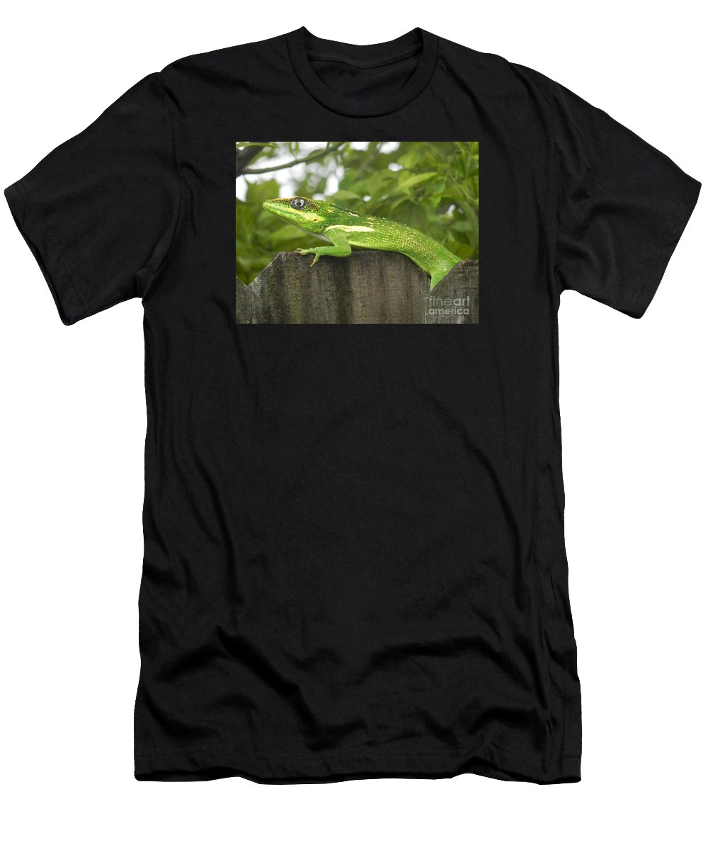 Photograph Men's T-Shirt (Athletic Fit) featuring the photograph Wild About You by Chrisann Ellis