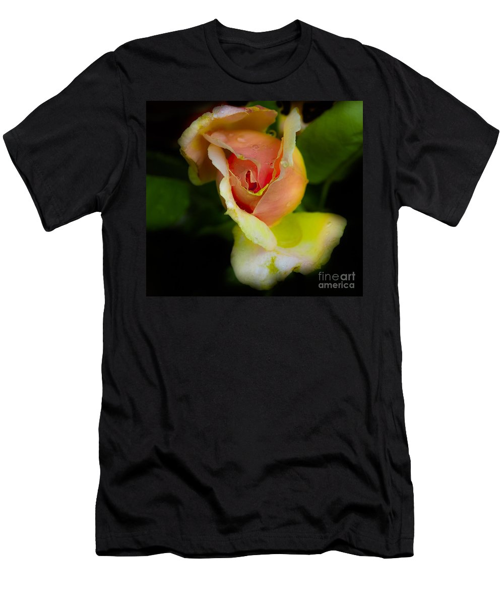 Fine Art T-Shirt featuring the photograph Wild Rose by Leon Hollins III