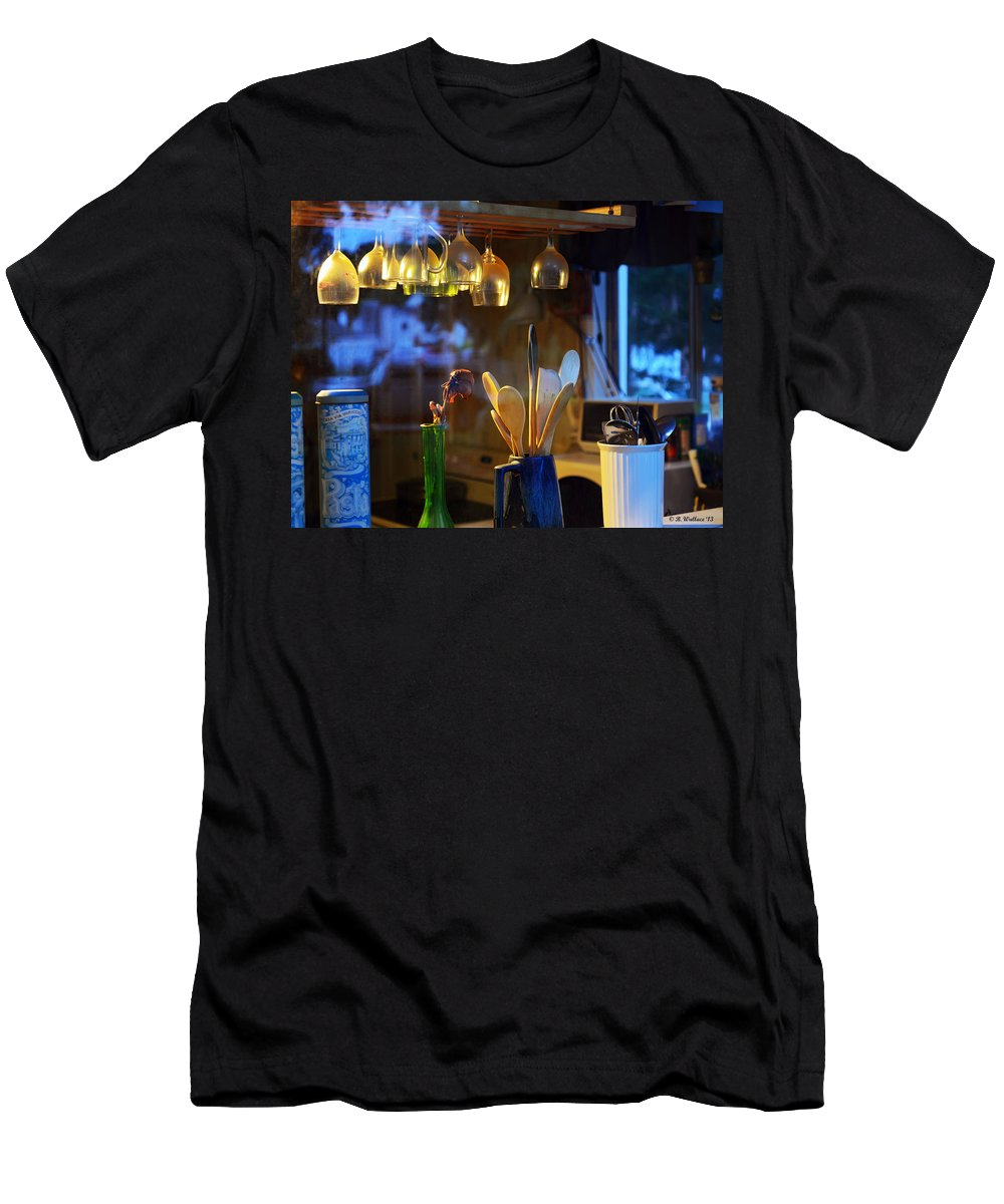 2d Men's T-Shirt (Athletic Fit) featuring the photograph Window To My Kitchen by Brian Wallace