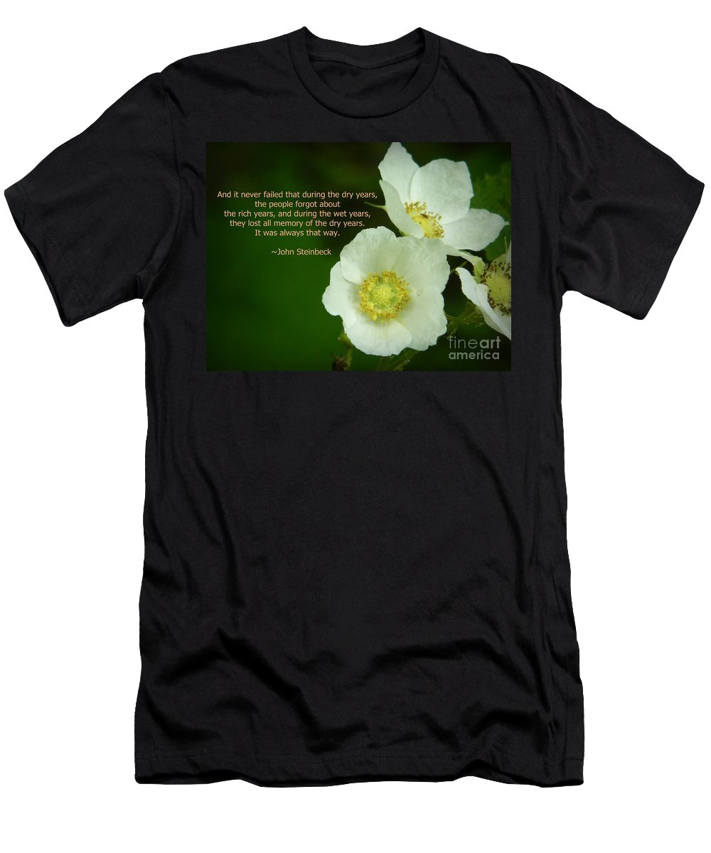 Wisdom Men's T-Shirt (Athletic Fit) featuring the mixed media Wisdom by Chalet Roome-Rigdon