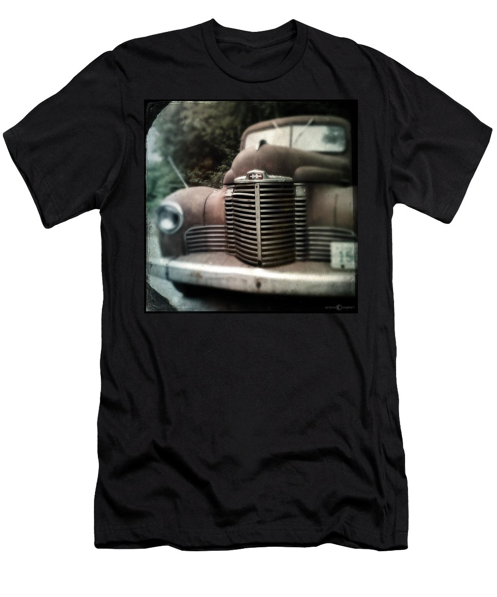 1941 Men's T-Shirt (Athletic Fit) featuring the photograph Work Horse by Tim Nyberg